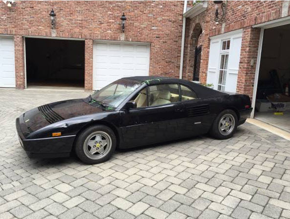 1992 mondial t convertible black new york vandal 1