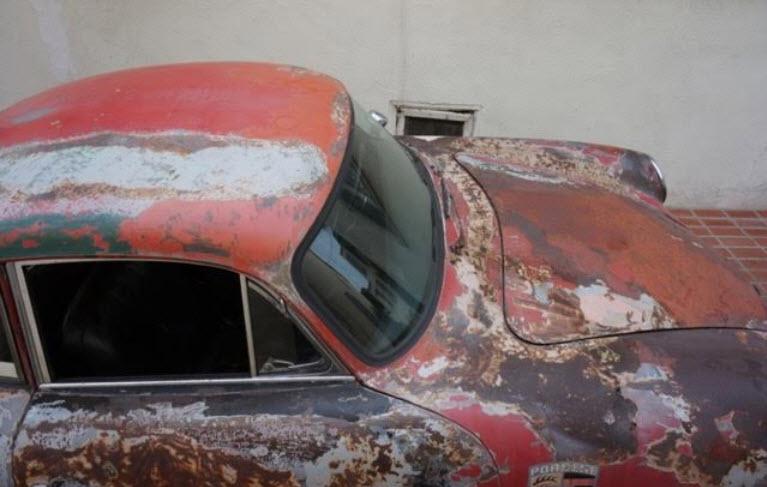 Porsche 356B Super 90 carrera brakes 6