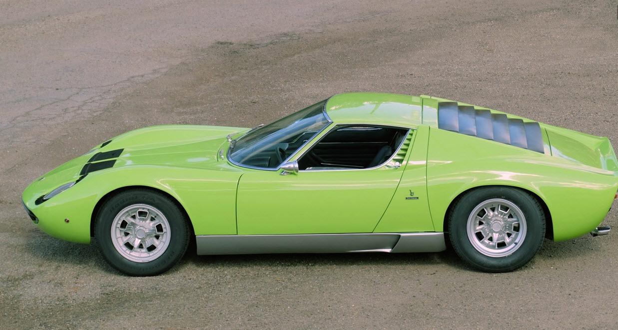 Lamborghini Miura green 1