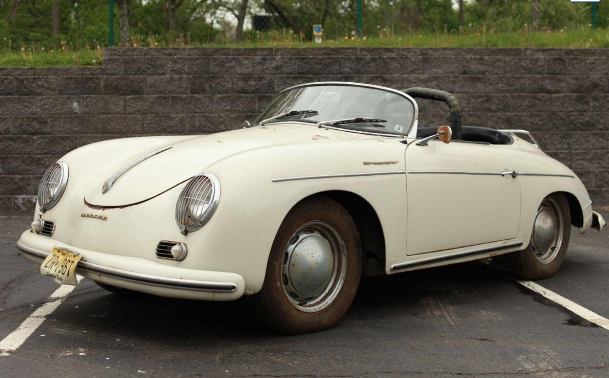 Porsche speedster 1957 ebay 1