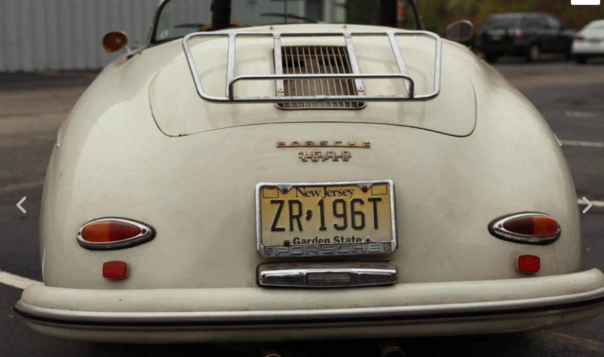 Porsche speedster 1957 ebay 4