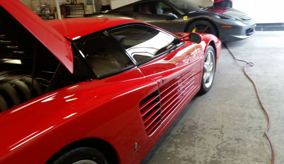 512tr 1994 for sale red black 2