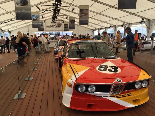 BMW Tent laguna seca 1