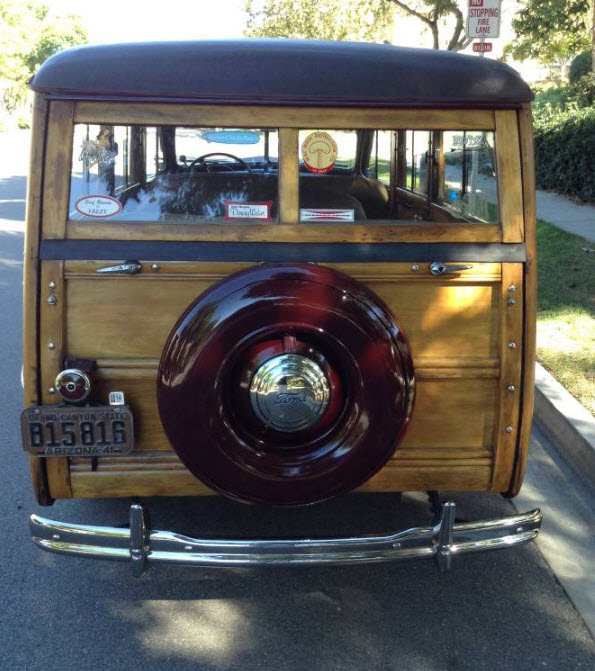 Ford Woody Wagon 1941 2