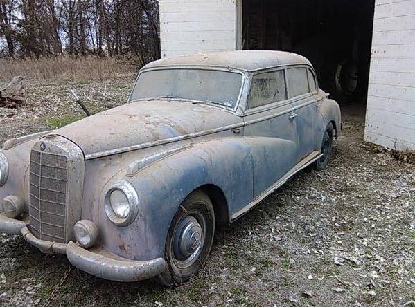 Mercedes 300 Adenauer Barnfind 1953 39k 10
