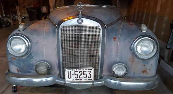 Mercedes 300 Adenauer Barnfind 1953 39k 12