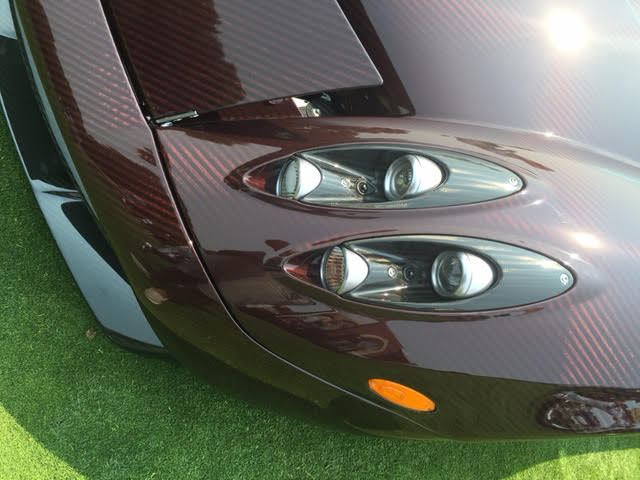 pagani headlights