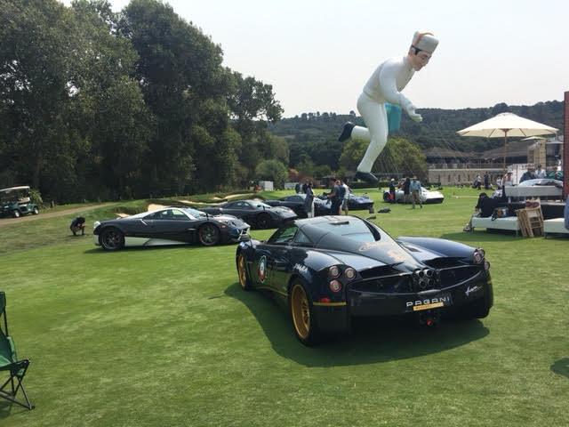 pagani show cars
