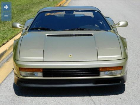 testarossa 1988  Oro Chiaro Metallizzato  3