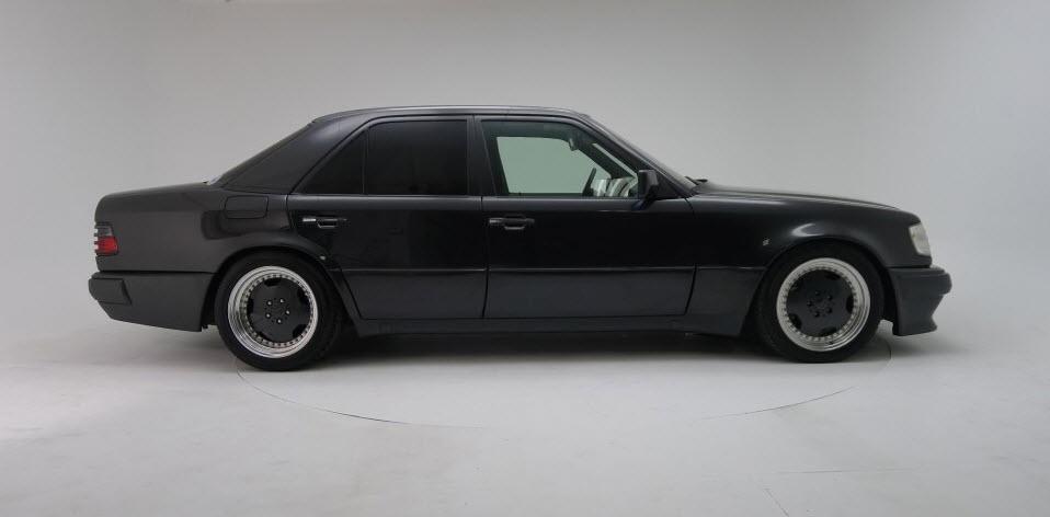 dirtyoldcars.com 1991 Mercedes Benz AMG Hammer E60 W124 body 10
