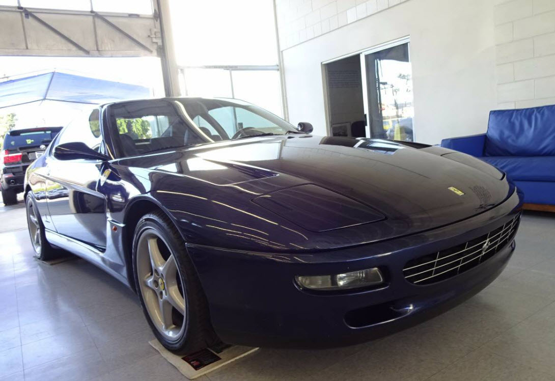 1995 ferrari 456 gt for sale in los angeles dirty old cars. Black Bedroom Furniture Sets. Home Design Ideas