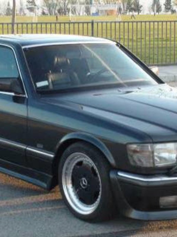 Mercedes 126 1991 560 Sel oem rear bumper shocks