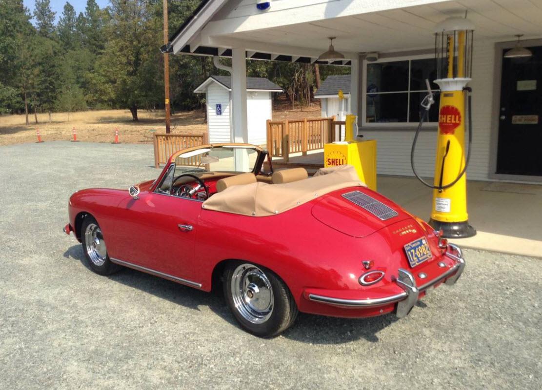 1960 porsche 356 super 90 cabriolet for sale dirty old cars. Black Bedroom Furniture Sets. Home Design Ideas