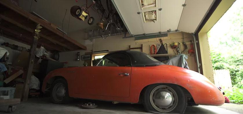 Barn Find: 1957 Porsche Speedster Video | Dirty Old Cars
