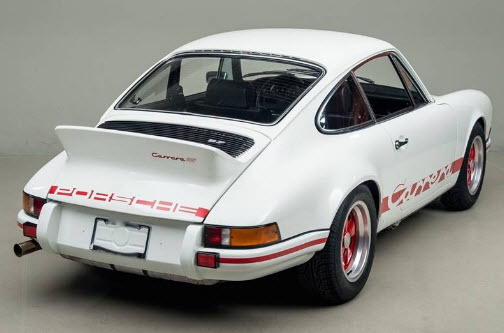dirtyoldcars.com 1973 Porsche 911 RS 2.7 Found in New York 4