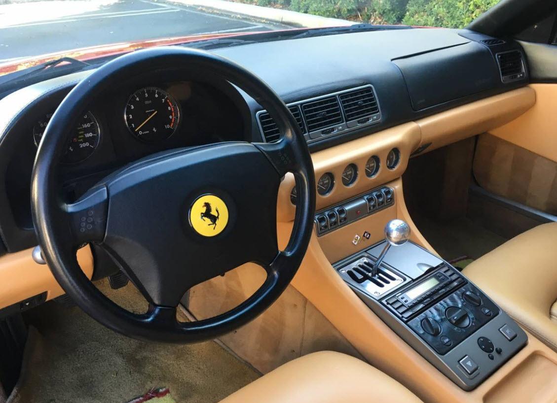 Ferrari 456 GT 1995 For Sale in Irvine 6 speed manual