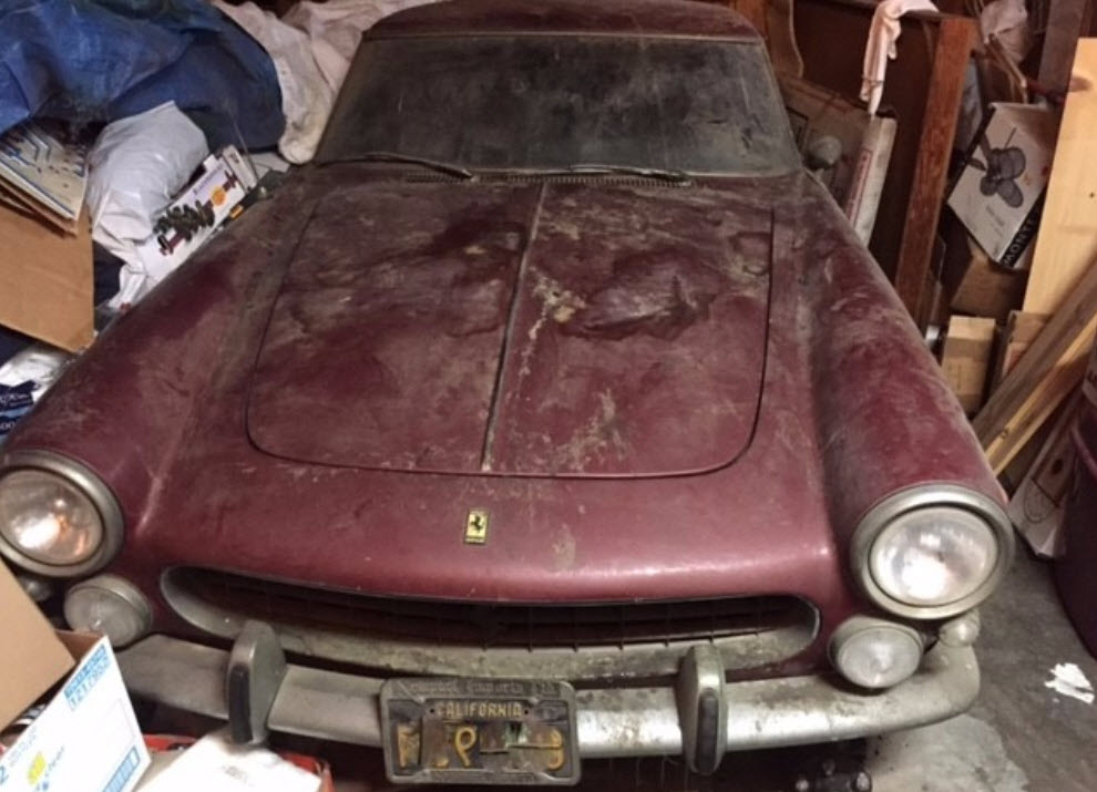 dirtyoldcars.com 1963 Ferrari 250 GTE Series 3 Found in New York 10