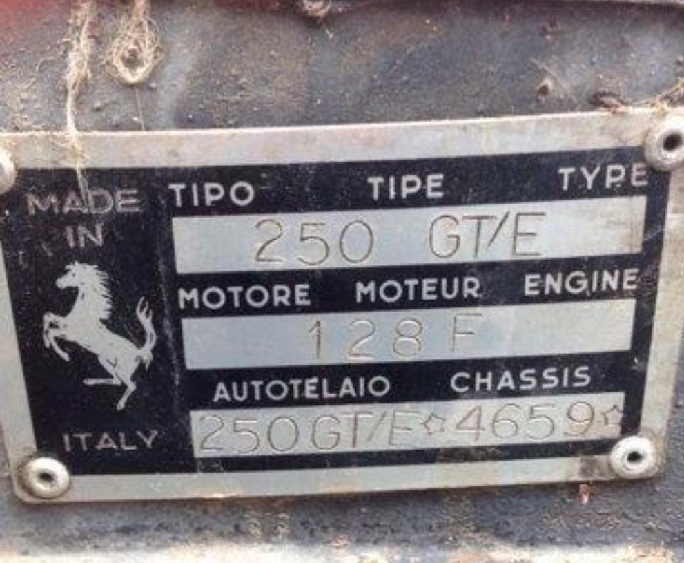 dirtyoldcars.com 1963 Ferrari 250 GTE Series 3 Found in New York 7