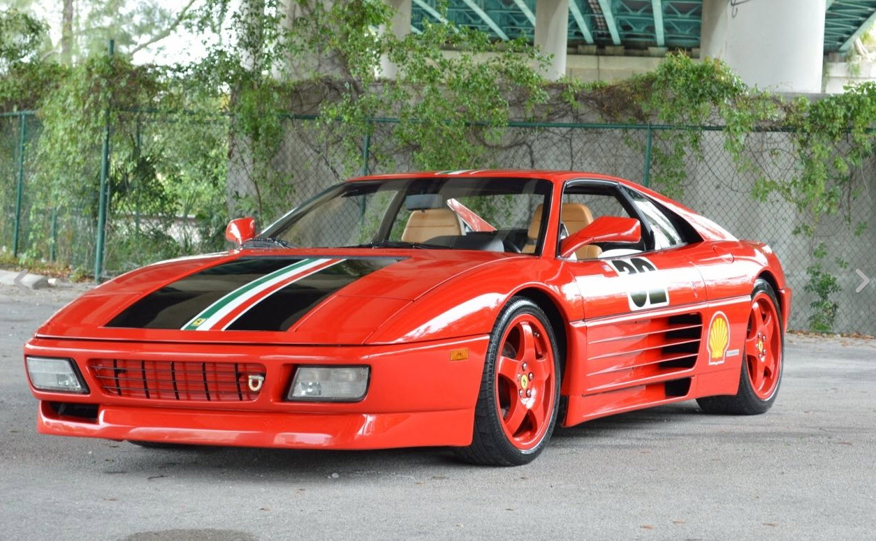 dirtyoldcars.com 1990 Ferrari 348 Challenge Car Found in Miami