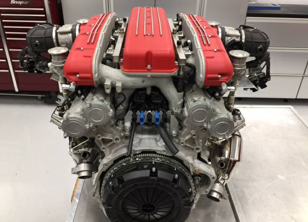 dirtyoldcars.com Ferrari 612 Engine Found in California
