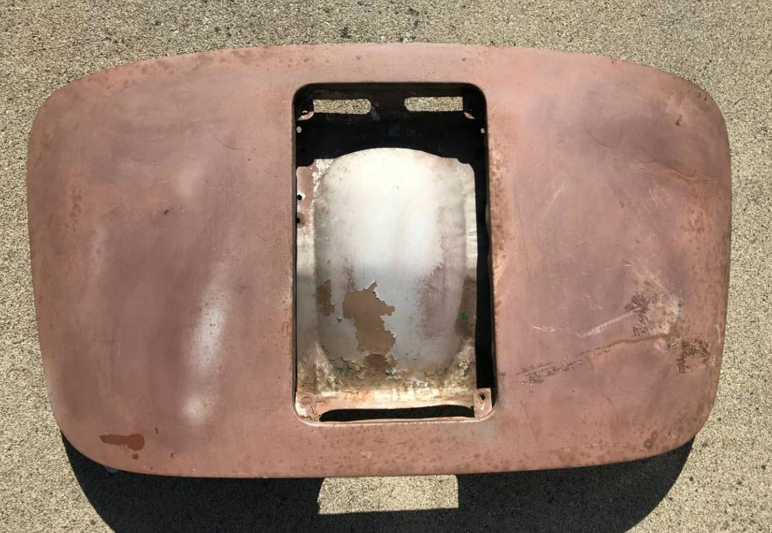 dirtyoldcars.com Porsche 356 Deck Lid T5 Found in Monterey