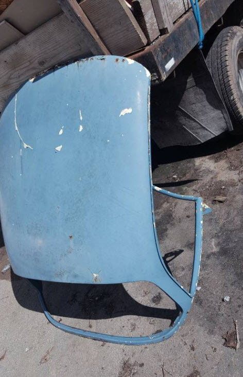 dirtyoldcars.com Porsche 356 Hard top Found in Scotts Valley