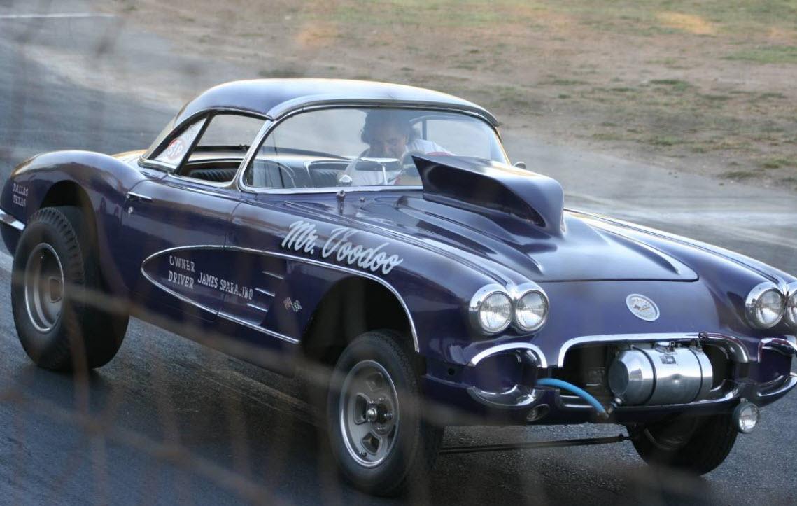 dirtyoldcars.com 1958 Corvette Gasser Mr VOO DOO Found in San Rafael 10
