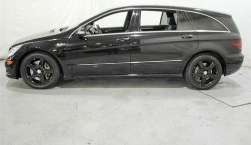 dirtyoldcars.com 2007 Mercedes Benz R63 Found in Bethesda 5
