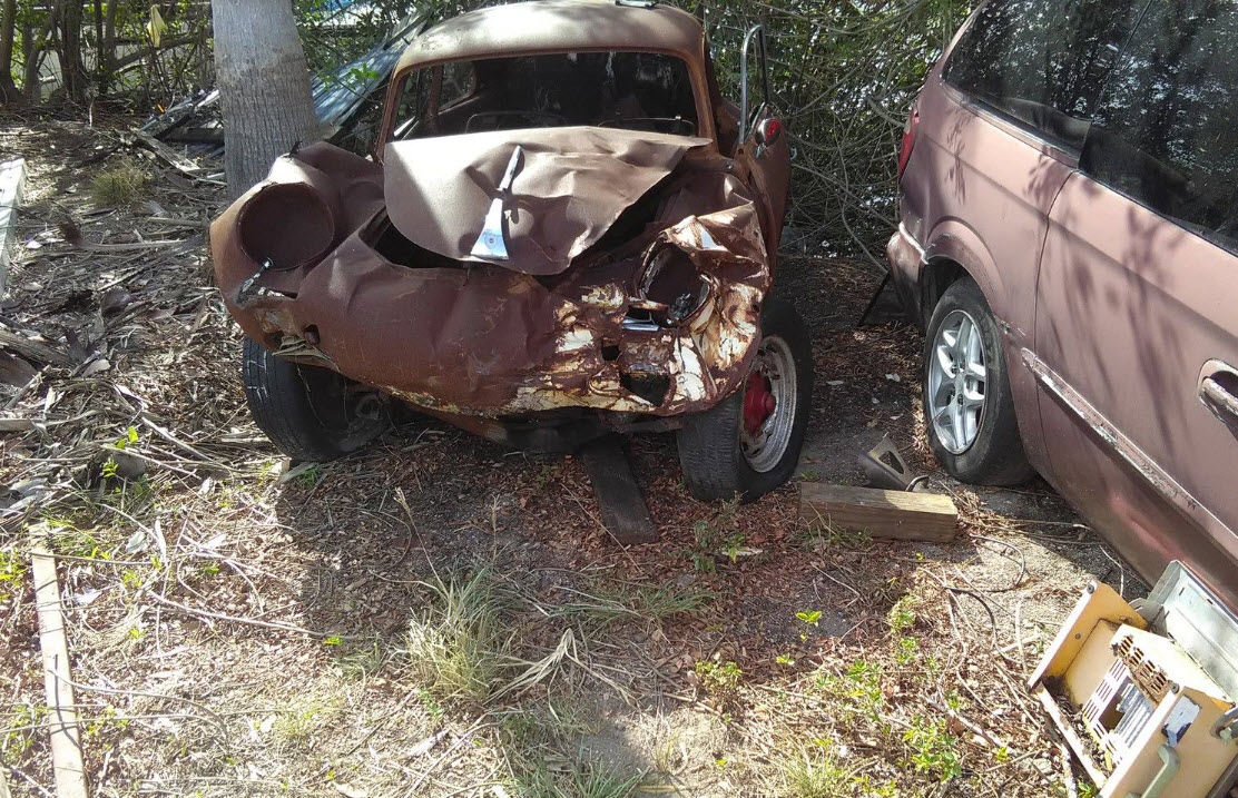 1963 Porsche 356 Wreck Found In Tampa Dirty Old Cars