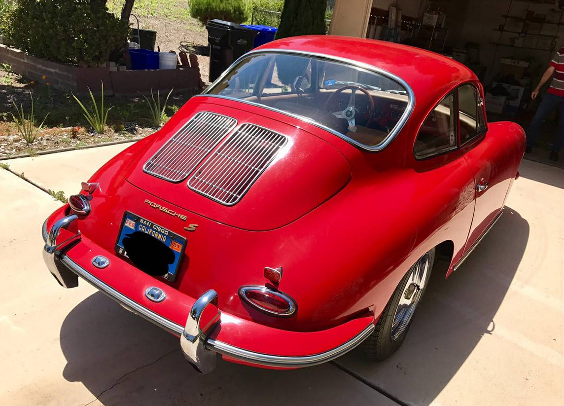 dirtyoldcars.com 1963 Porsche 356 Found in the Southbay California 9