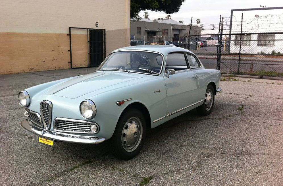 dirtyoldcars.com  1962 Alfa Romeo Giulietta Sprint  Found in Gardena California  9
