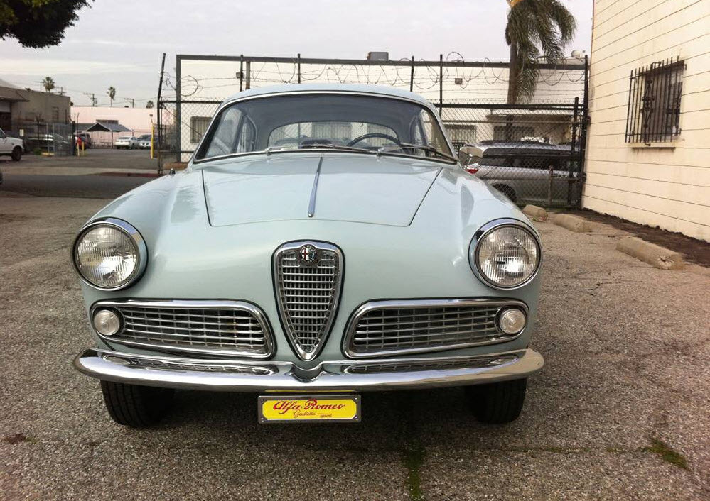 dirtyoldcars.com  1962 Alfa Romeo Giulietta Sprint  Found in Gardena California  1