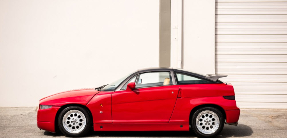 dirtyoldcars.com 1991 Alfa Romeo SZ Found in San Francisco California 8