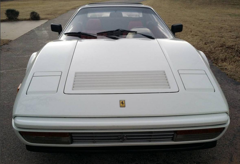 dirtyoldcars.com White 1987 Ferrari 328 GTS Found in Edmond Oklahoma 8