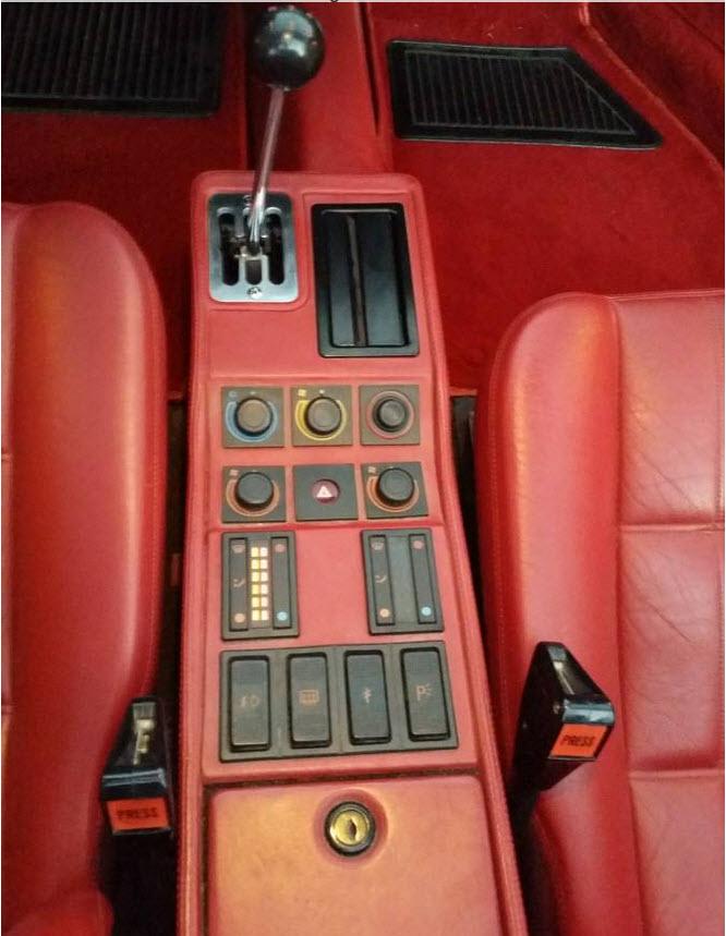 dirtyoldcars.com White 1987 Ferrari 328 GTS Found in Edmond Oklahoma 4