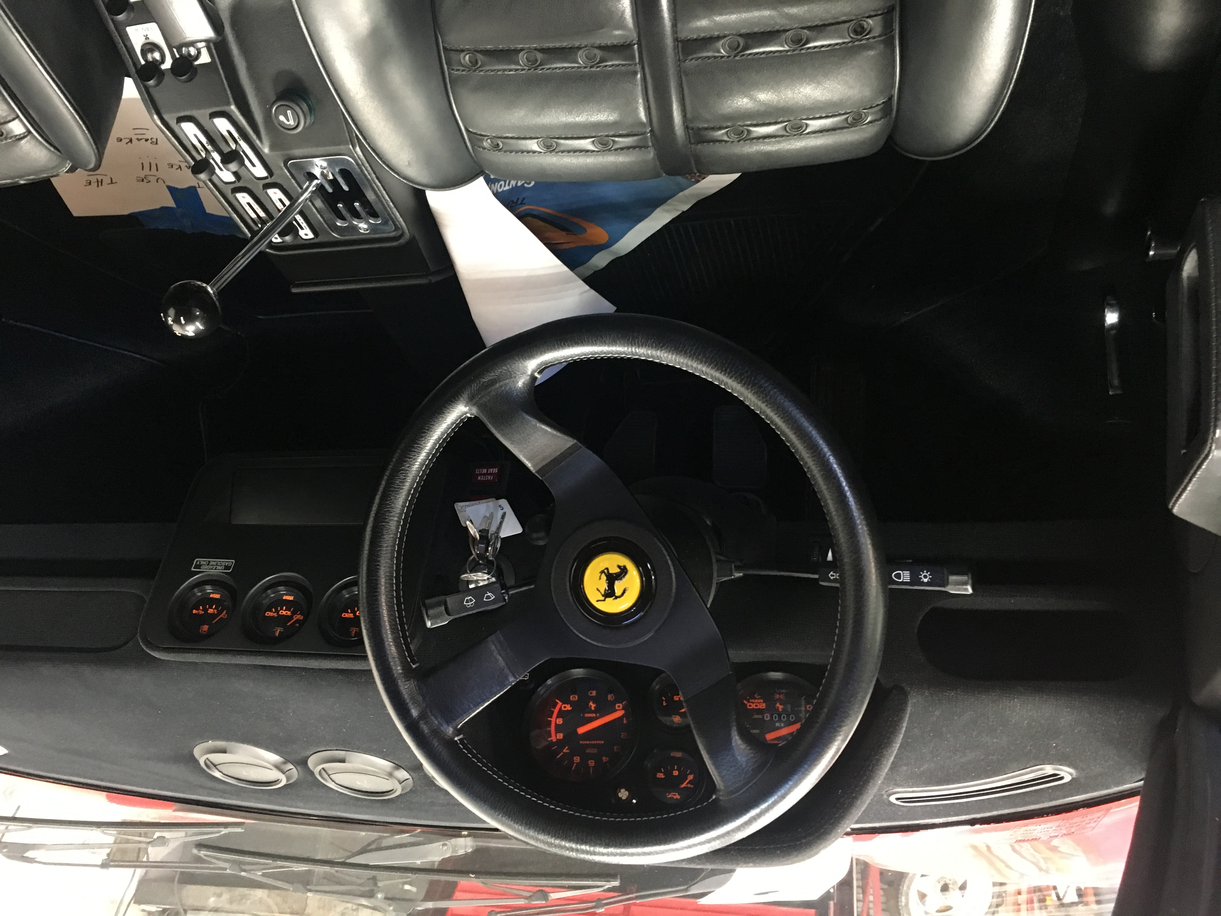 dirtyoldcars.com 1985 Ferrari 288 GTO: Only 700 KM 10