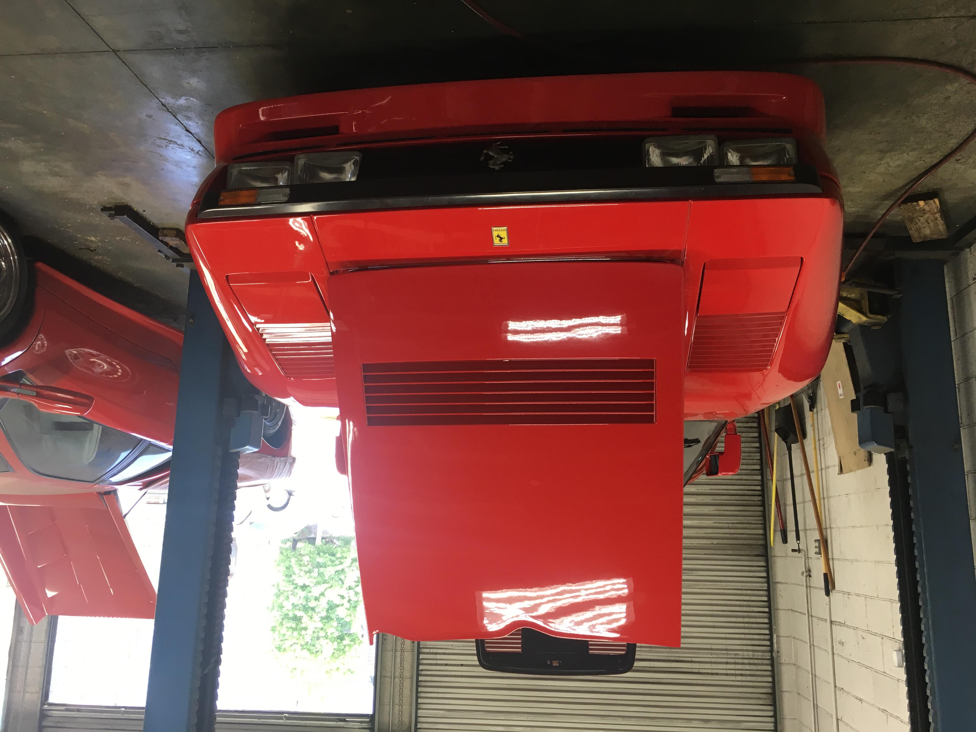 dirtyoldcars.com 1985 Ferrari 288 GTO: Only 700 KM 20