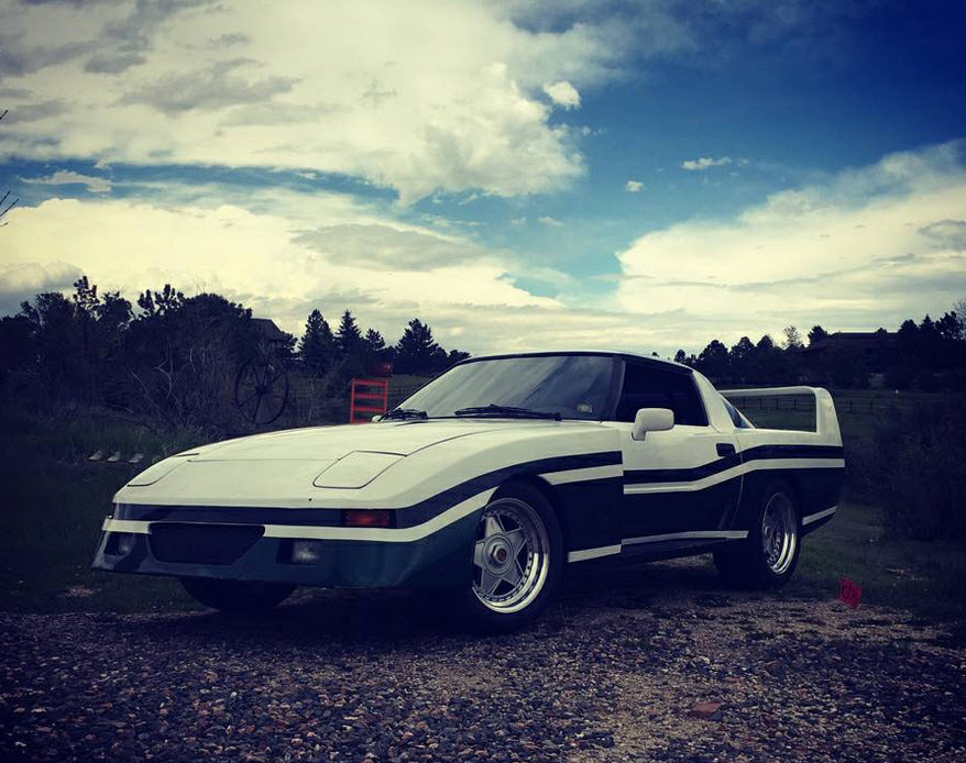 dirtyoldcars.com 1982 Mazda RX-7 Le Mans Found in Parker Colorado F40 Wheels 8