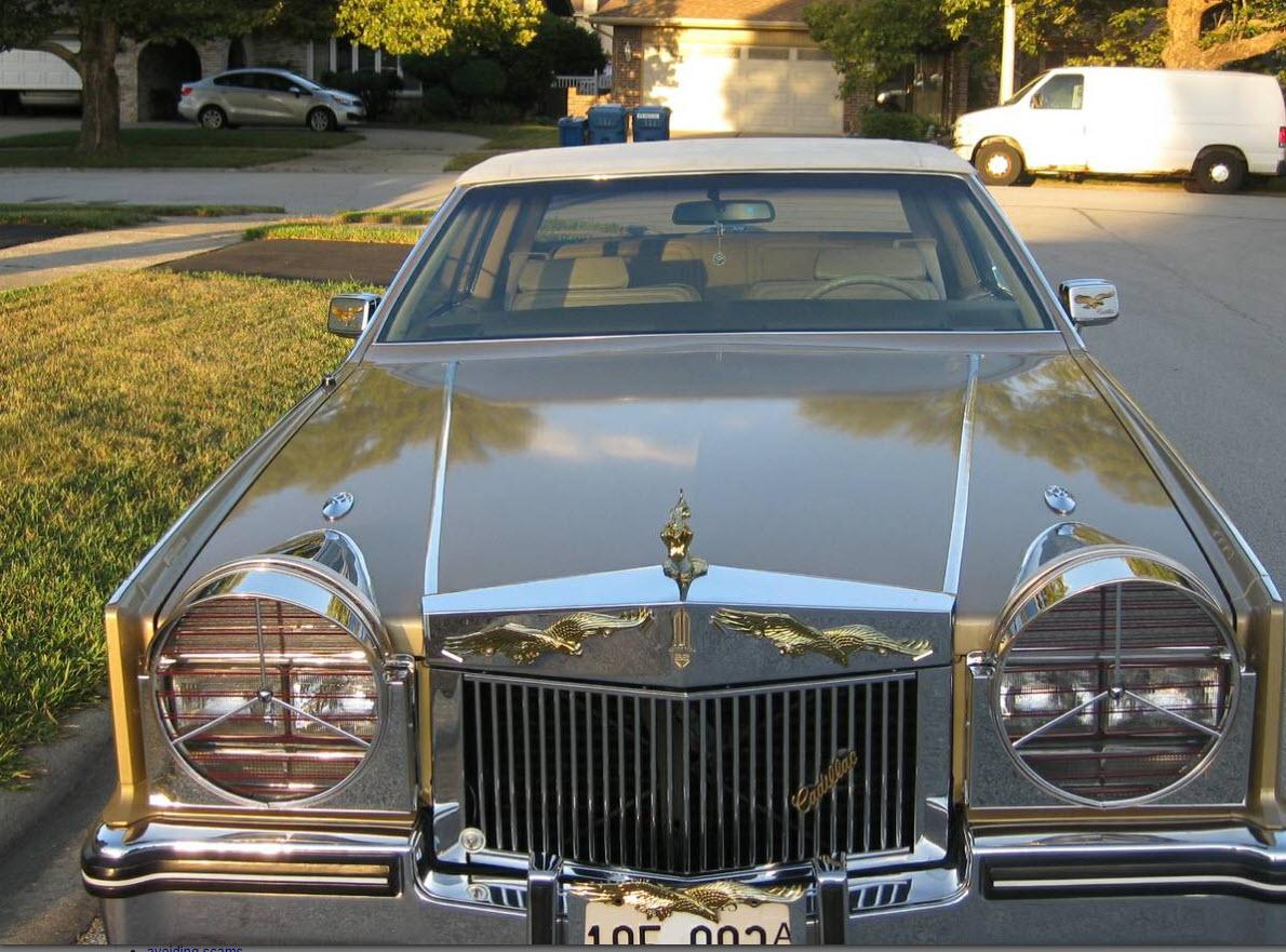 dirtyoldcars.com 1985 Cadillac Eldorado Super Fly Found in Chicago 6