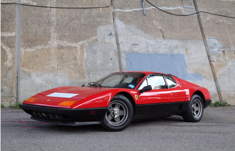 dirtyoldcars.com 1982 Ferrari 512BBi Found in New York 7