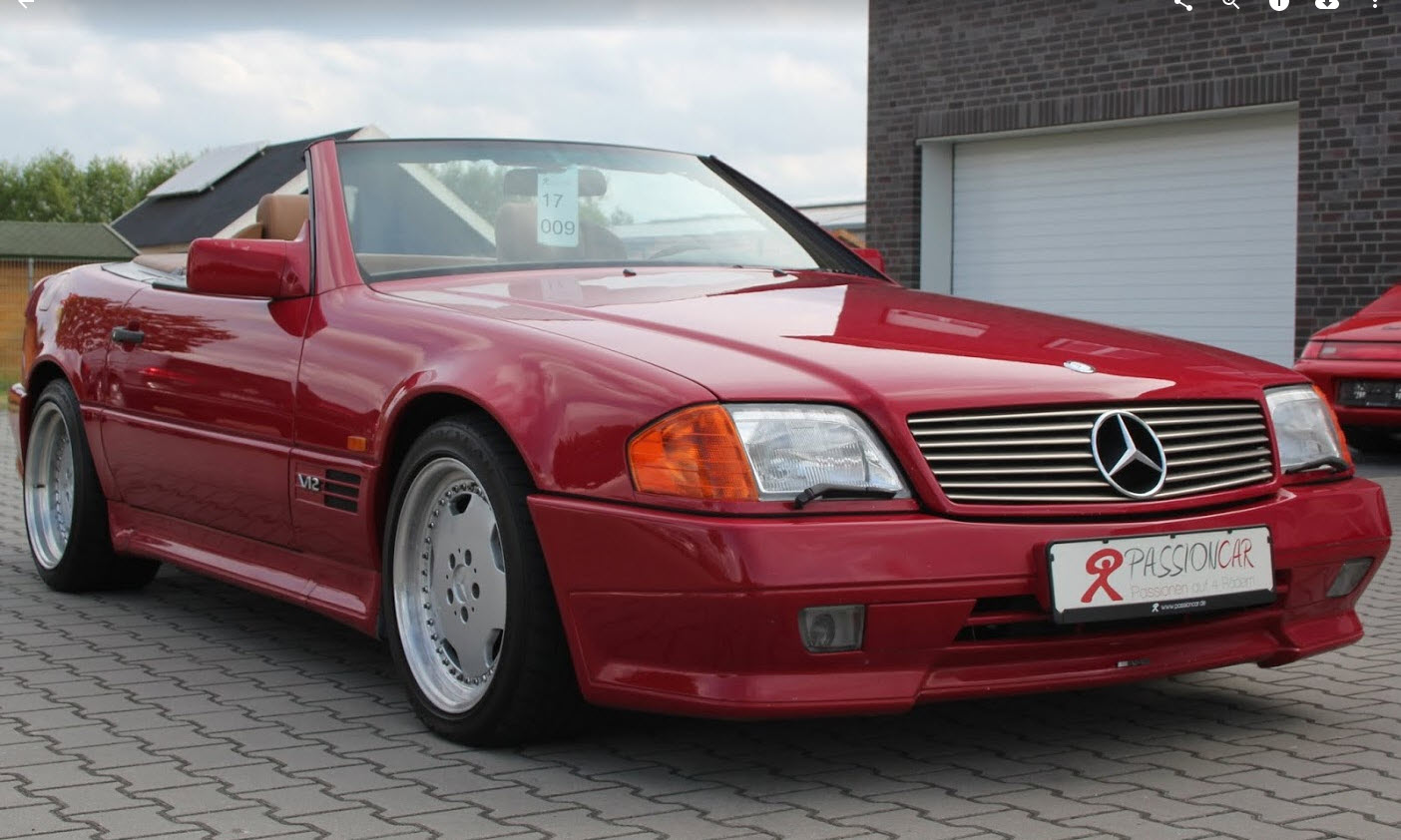 dirtyoldcars.com  1993 Mercedes 600SL AMG Found in Germany  2