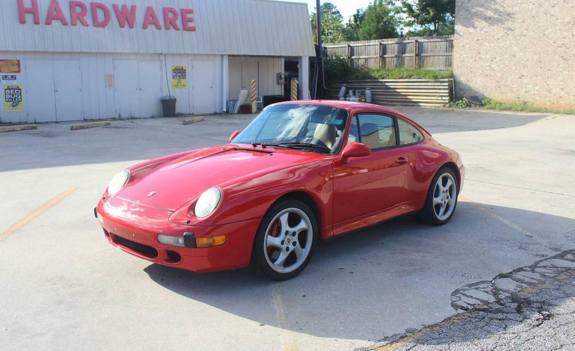 dirtyoldcars.com 1996 Porsche 993 C4S Found in Atlanta Georgia 8