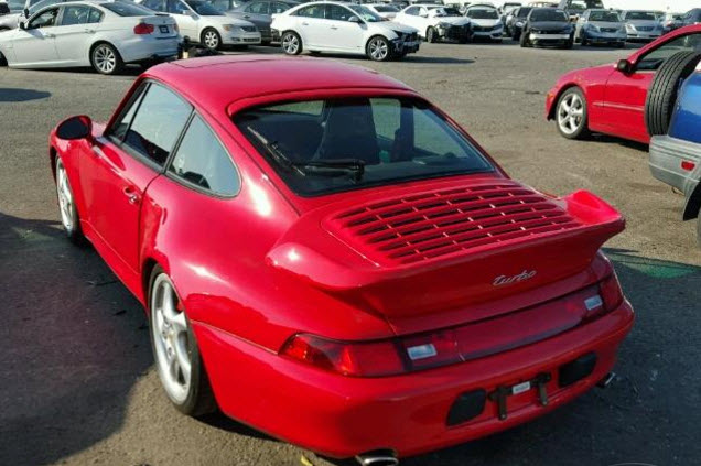 Dirtyoldcars.com 1996 Porsche 993 Turbo Found in Los Angeles California 4