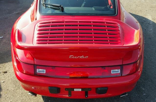 Dirtyoldcars.com 1996 Porsche 993 Turbo Found in Los Angeles California 1