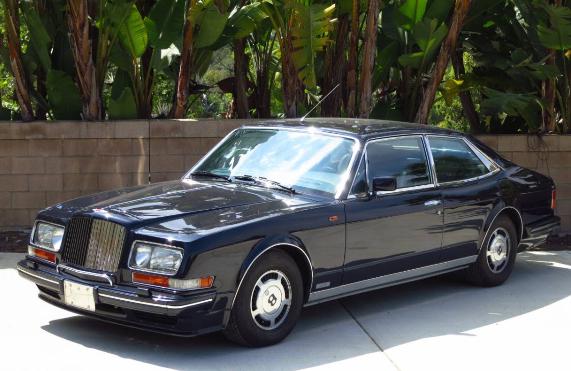 dirtyoldcars.com 1990 Bentley Hooper Empress II Found in San Diego California 9