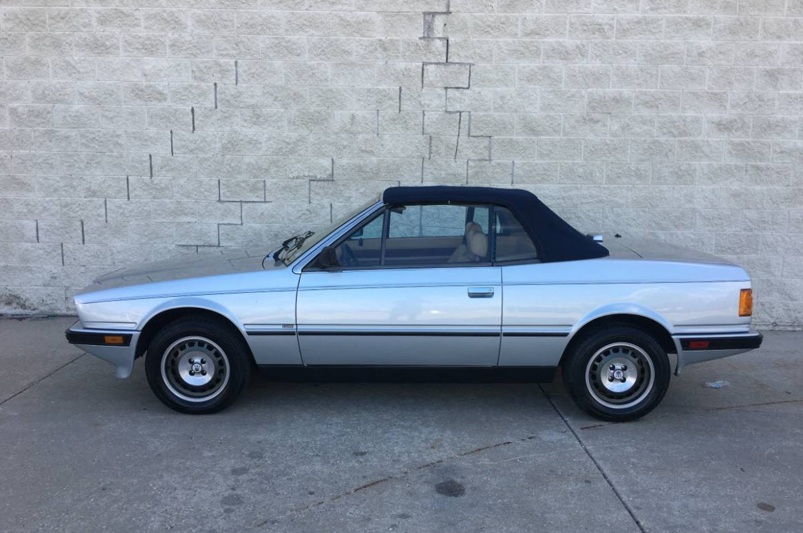 dirtyoldcars.com 1987 Maserati Spyder Biturbo Found in Chicago 7