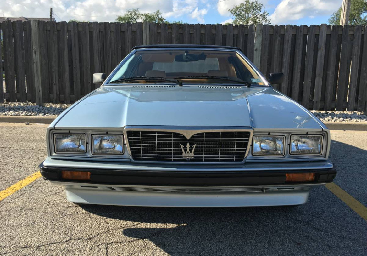 dirtyoldcars.com   1987 Maserati Spyder Biturbo Found in Chicago    4