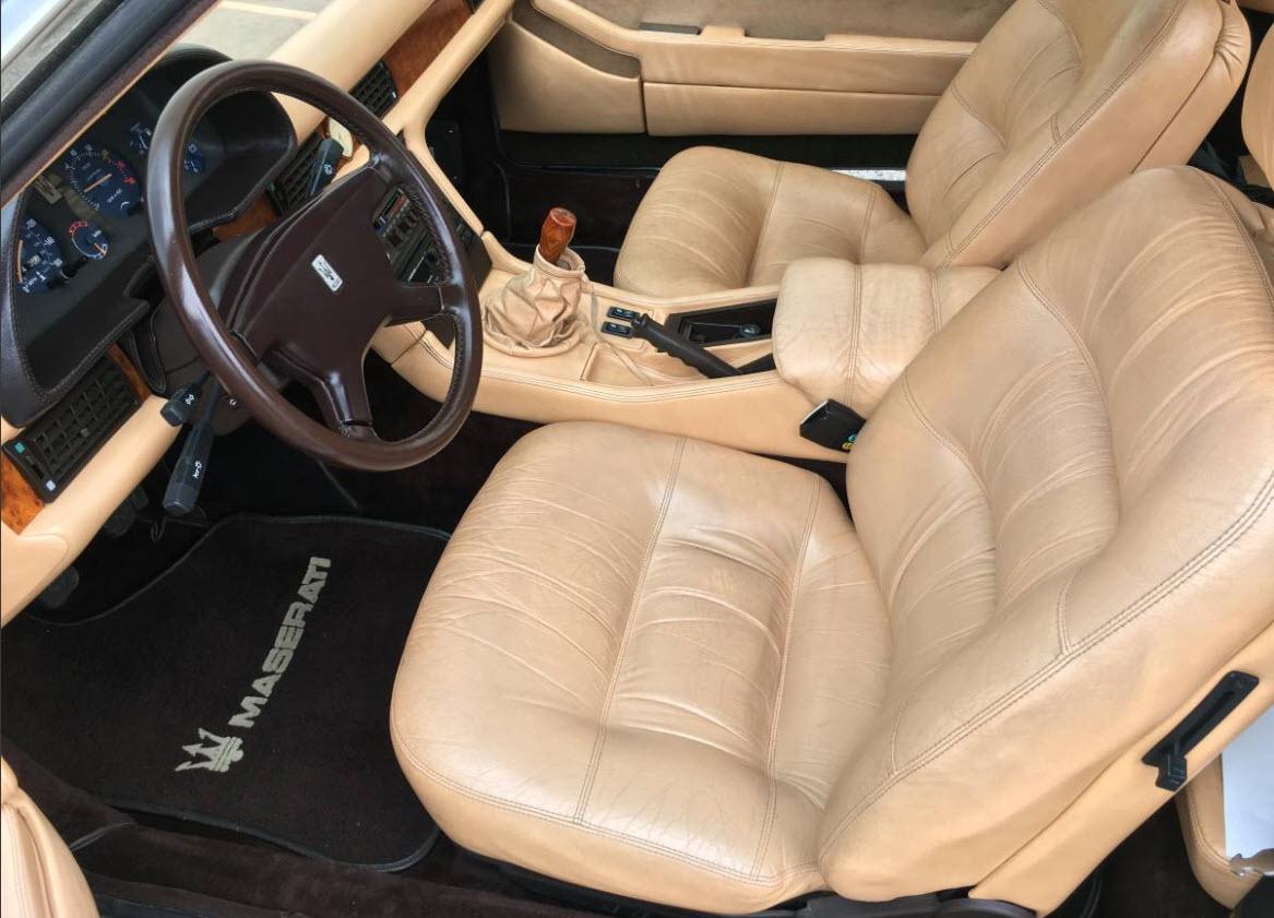 dirtyoldcars.com   1987 Maserati Spyder Biturbo Found in Chicago    3