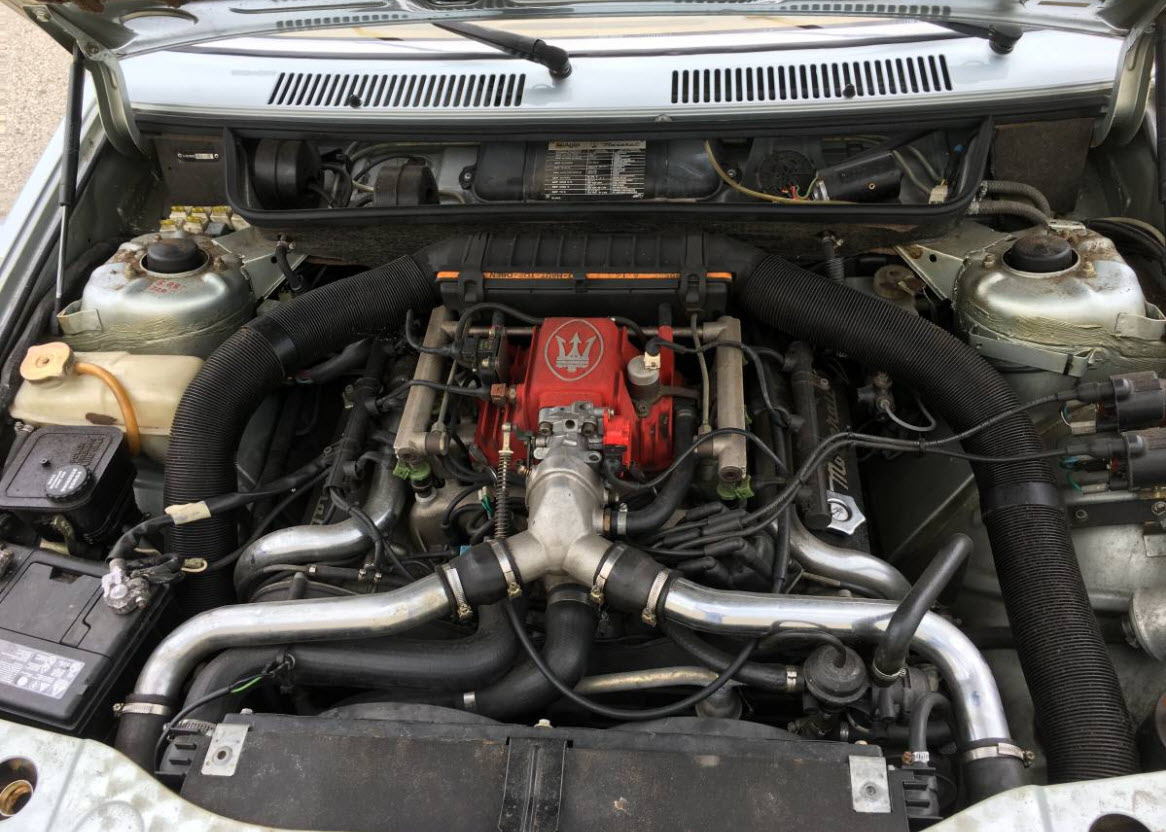 dirtyoldcars.com   1987 Maserati Spyder Biturbo Found in Chicago    2