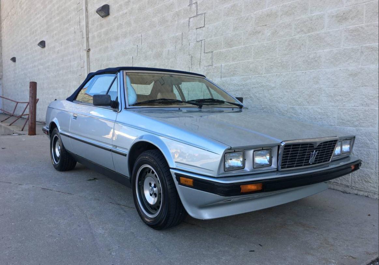 dirtyoldcars.com   1987 Maserati Spyder Biturbo Found in Chicago    1